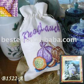 Storage Bag Cross Stitch Kit B1522 A